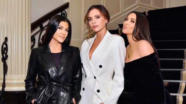 Kim Kardashian y Victoria Beckham
