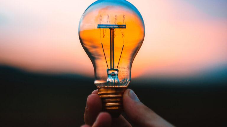 energia bombilla luz