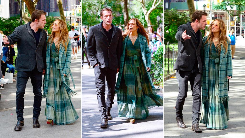 Jennifer Lopez y Ben Affleck Nueva York