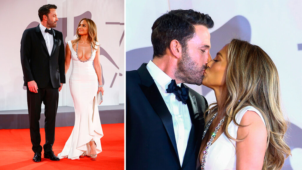 Jennifer Lopez y Ben Affleck Venecia