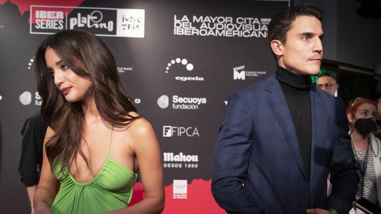 María Pedraza y Álex González