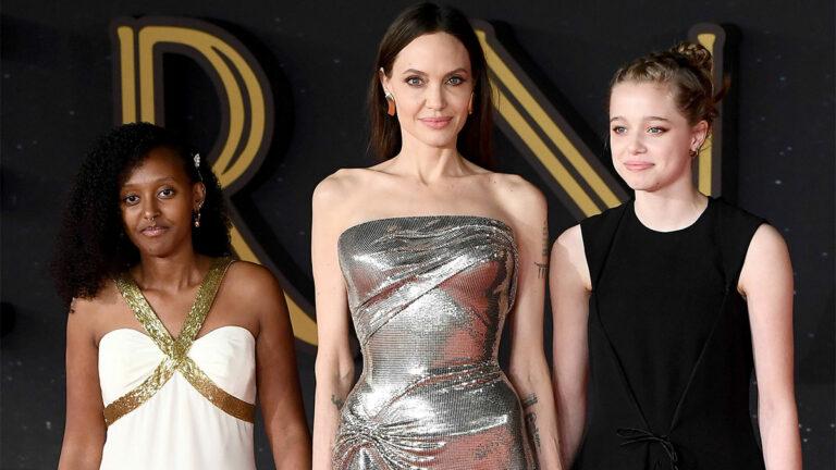 Angelina Jolie e hijas