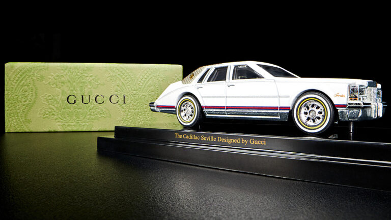 Mattel Cadillac Seville by Gucci