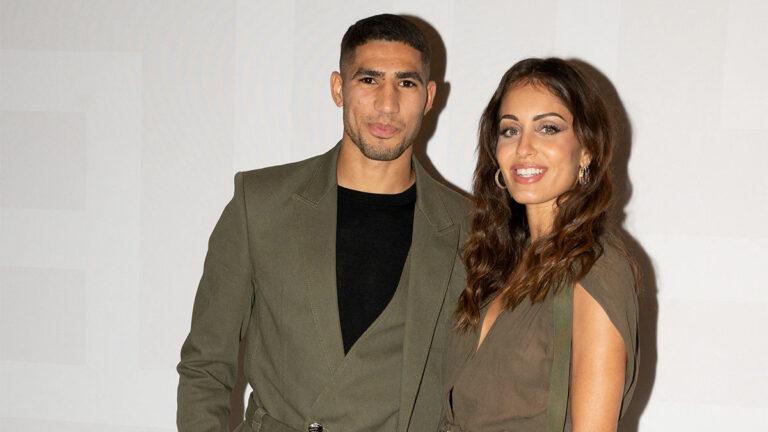 Hiba Abouk y Achraf Hakimi