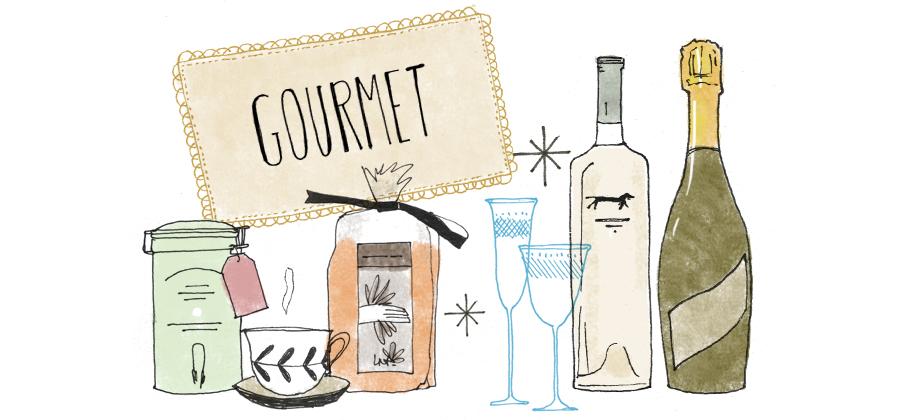 sección gourmet